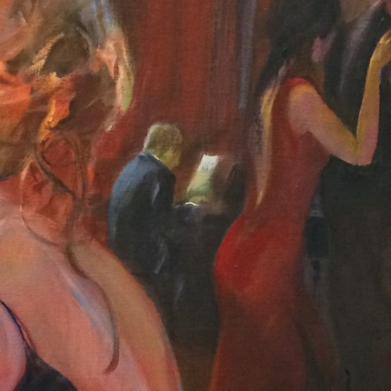 detail schilderij 'Milonga'